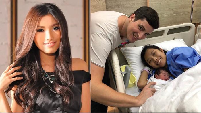 """นักร้องสาวไทยหนึ่งเดียวในบรอดเวย์ """"แก้ม กุลกรณ์พัชร์"""" คลอดลูกสาวแล้ว"""