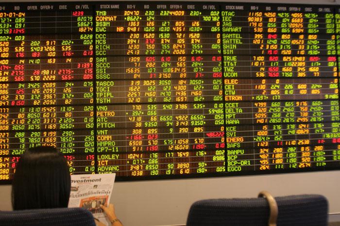 หุ้นไทยลดช่วงลบและดูแข็งแกร่งกว่าตลาดหุ้นในภูมิภาคเอเชีย