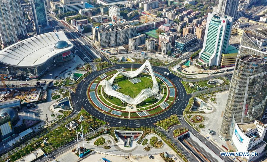 เมืองอู่ฮั่น (ภาพ : ซินหัว)