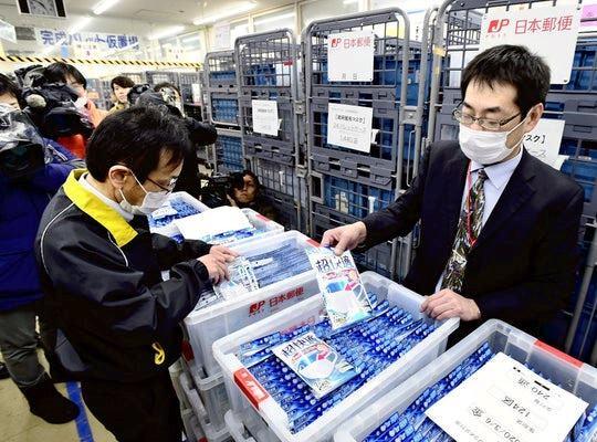 รัฐบาลญี่ปุ่นส่งหน้ากากให้ชาวฮอกไกโด ครอบครัวละ 7 ชิ้น