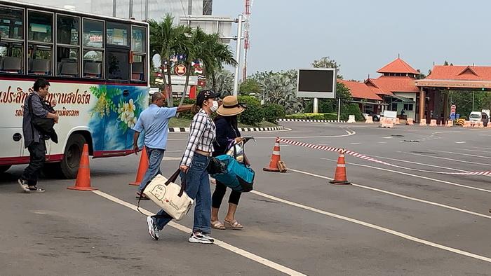 (ชมคลิป)ตรวจเข้มคนเข้าออกสะพานไทย-ลาว คนเดินทางลดลงกว่า90 %