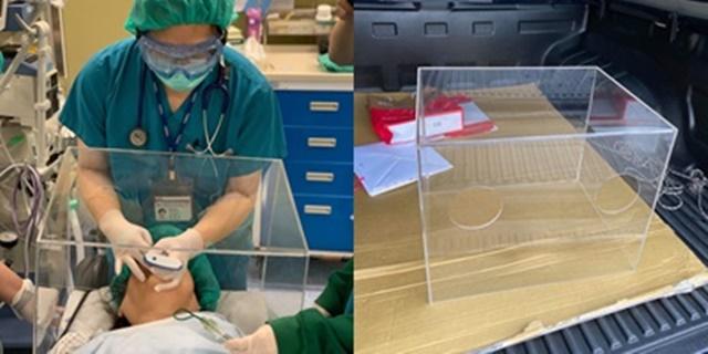 ตามหาโรงงานผลิตกล่องใส บริจาคโรงพยาบาลทั่วประเทศใช้รักษาผู้ป่วย โควิด-19