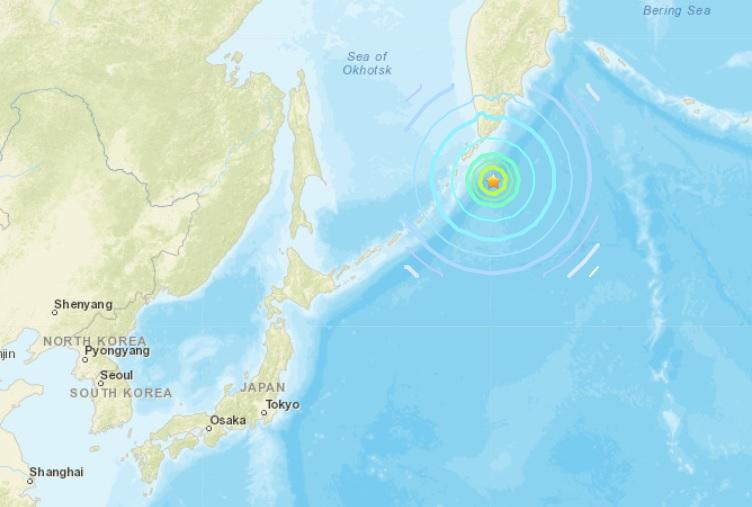 แผ่นดินไหว 7.5 นอกชายฝั่ง 'หมู่เกาะคูริล' มะกันเตือนเฝ้าระวัง 'สึนามิ'