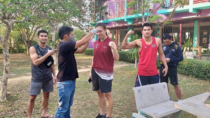 """ยืนยัน """"นักมวยทีมชาติไทย"""" ปลอดภัยจาก """"โควิด-19"""" ปล่อยตัวกลับบ้าน"""