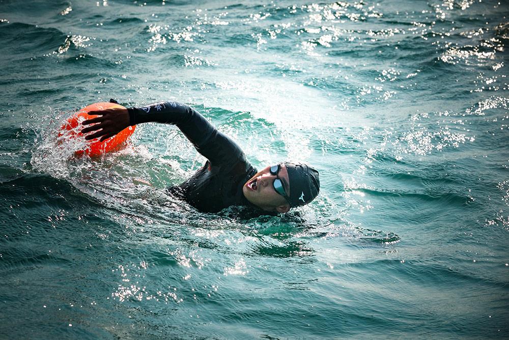 """เปิดเส้นทางว่ายน้ำ """"โตโน่-ภาคิน"""" พิชิต 12 เกาะ ก่อนจบภารกิจที่ """"เกาะพะลวย"""" อันซีนเมืองหอยใหญ่"""