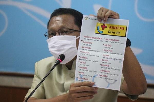 ผู้ว่าฯ อยุธยา เผย พบผู้ป่วยไวรัสโควิด-19ในพื้นที่ ยืนยันแล้ว 2 ราย  1 รายเฝ้าระวัง