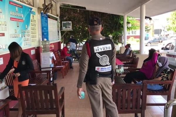 สั่งกักตัวตำรวจ สภ.เมืองกระบี่ 7 นาย สัมผัสคนป่วยติดเชื้อโควิด-19 หนีออกจากโรงพยาบาล