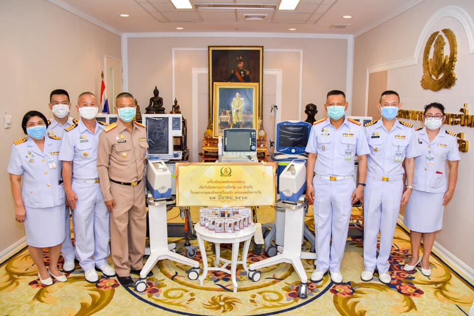 ในหลวง พระราชทานเครื่องมือแพทย์ ให้แก่ รพ.สมเด็จพระปิ่นเกล้า-รพ.สมเด็จพระนางเจ้าสิริกิติ์ พร้อมรับมือ โควิด-19