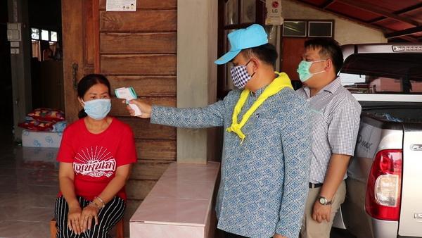 อ.วังสะพุงเอาจริง! สั่งกักตัวผู้ค้าสลากกว่า8,500 ราย สกัดไวรัสโควิดระบาด