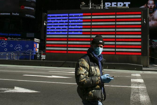 สหรัฐฯอ่วม!ติดโควิด19วันเดียวเป็นหมื่น,ยอดรวมพุ่งเฉียดแสน ทรัมป์ใช้กม.สงครามบังคับGMผลิตเครื่องช่วยหายใจ