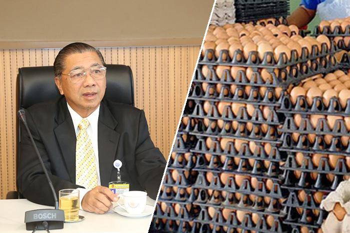 ส.ส.พปชร. ประกาศยกเลิกการจำหน่ายไข่ไก่ที่หน้าที่ทำการพรรคฯ ถ.รัชดา