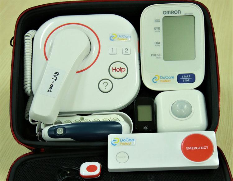 ติดเกราะให้หมอ เสริมความปลอดภัยคนไข้ สู้โควิด-19 ด้วย Tele-Monitoring