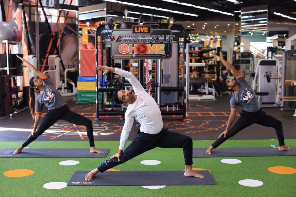 วี ฟิตเนสเปิดคลาสไลฟ์สด สอนออกกำลังกายผ่านเฟซบุ๊ก