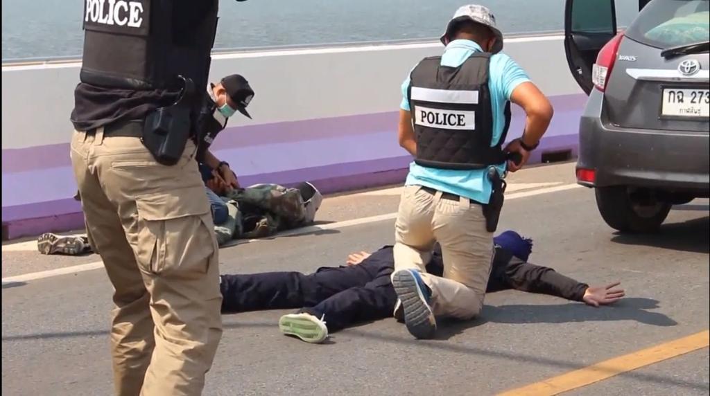 ตำรวจซ้อมแผนรับมือป้องกันอาชญากรรมช่วงโควิด19