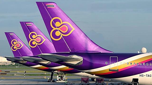 การบินไทย ประกาศยกเลิกทุกเที่ยวบินทั้งใน และ ตปท. เป็นการชั่วคราว