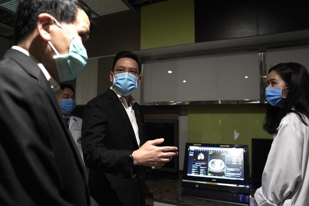 กระทรวงดีอีเอส นำ AI สู้โควิด-19 เพิ่มประสิทธิภาพการตรวจหาไวรัสรู้ผลหลักวินาที