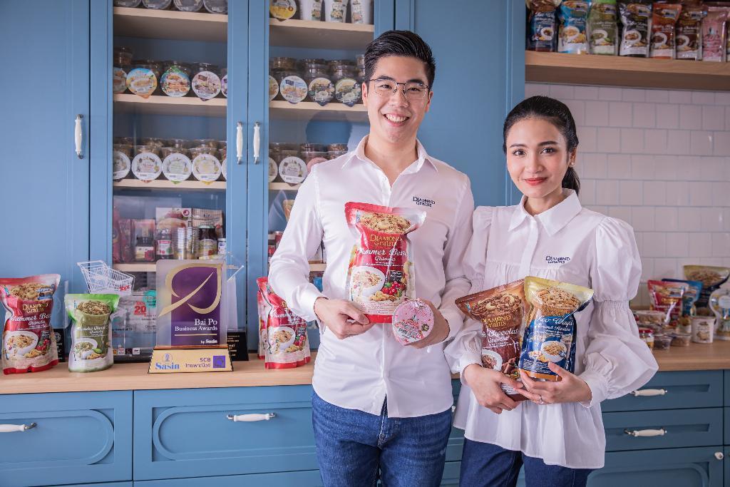 Diamond Grains กราโนล่าคลีนเจ้าแรกในไทย สร้างรายได้โตต่อเนื่อง
