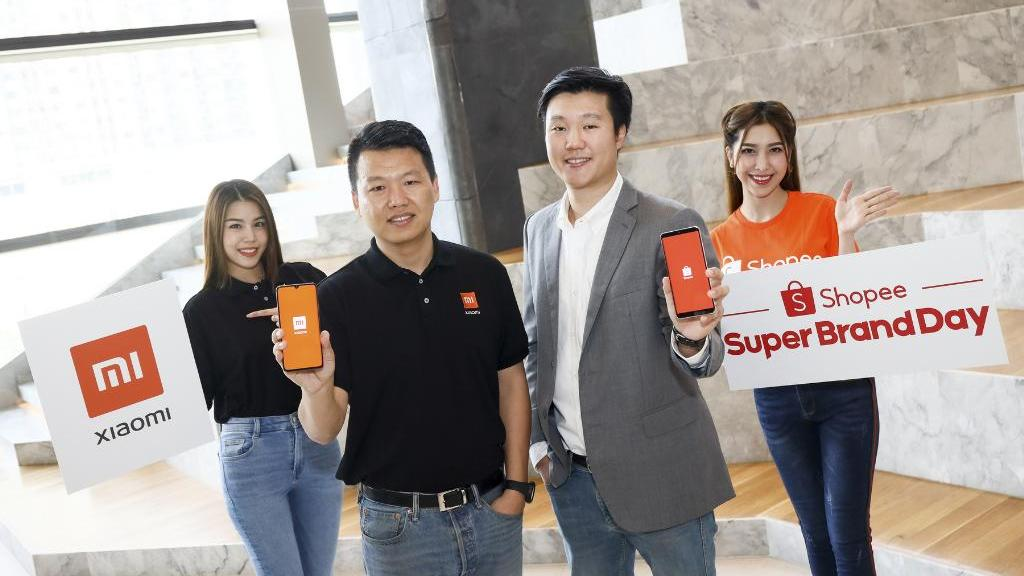 Xiaomi จับมือ Shopee ร่วมแคมเปญ Super Brand Day