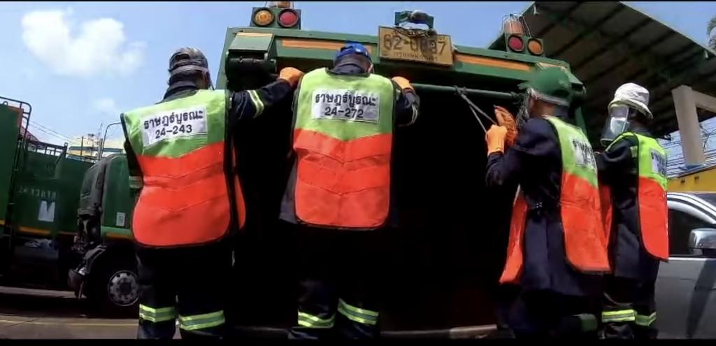#saveพนักงานเก็บขยะ  หนึ่งกลุ่มเสี่ยงสัมผัสเชื้อโควิด-19