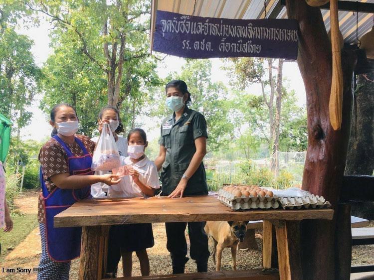 โครงการเลี้ยงไก่ไข่เพื่ออาหารกลางวันฯ แหล่งผลิตไข่ไก่ปลอดภัยของชุมชน
