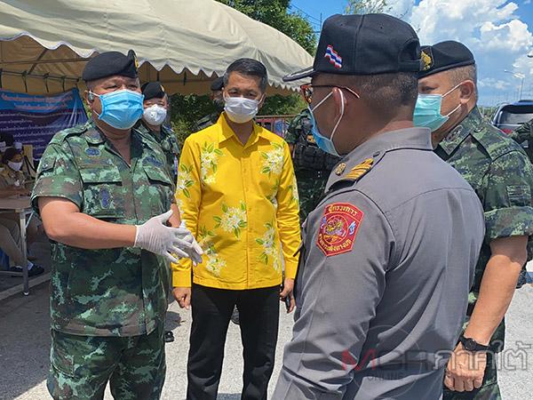 รองแม่ทัพ 4 ลุยสกัดแรงงานไทยจากมาเลย์ 608 คนเข้าชายแดนใต้ นำคัดกรองตรวจเชื้อโควิดเข้ม