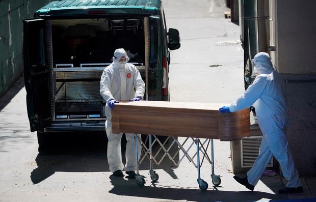โควิด-19คร่าวันเดียว950ศพทุบสถิติสูงสุด,ตายรวมทะลุหมื่นคน แต่สเปนยังเห็นความหวัง