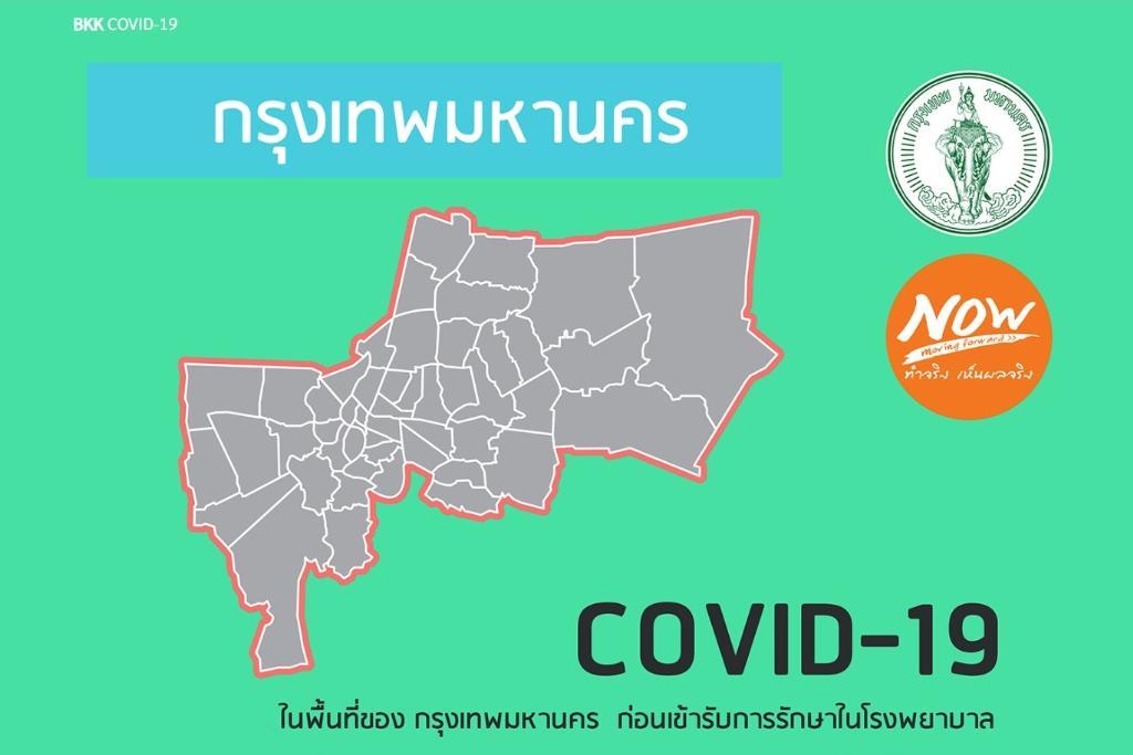 """กทม. ออกระบบ """"BKK COVID-19"""" คัดกรอง-ให้ความรู้-ช่วยเหลือ ผู้เสี่ยงติดเชื้อโควิด-19"""