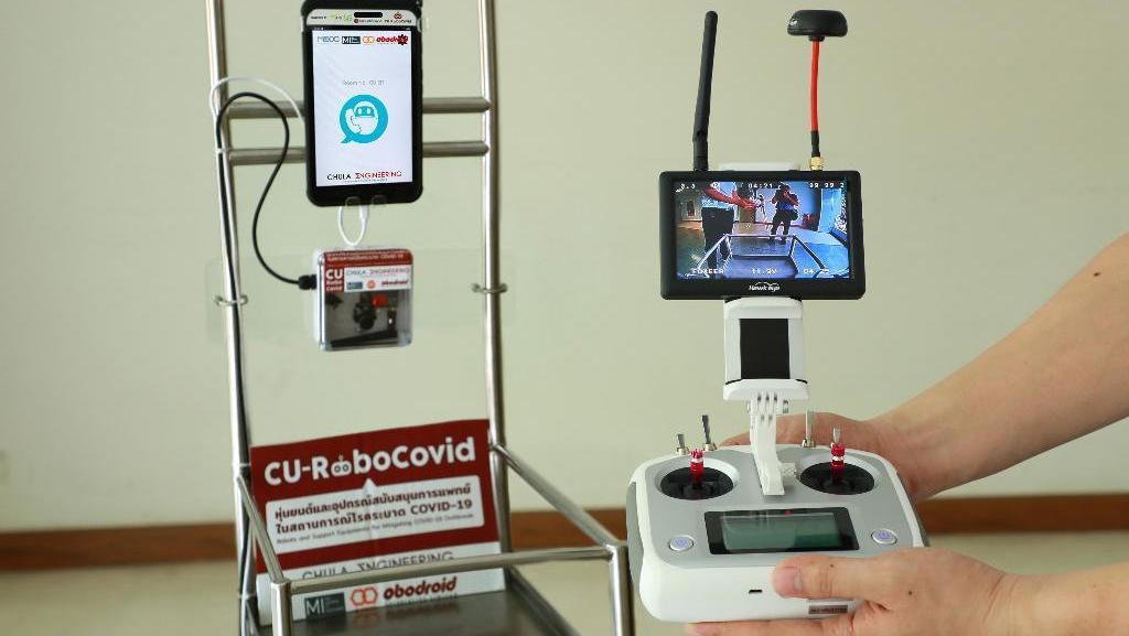 เอไอเอส - วิศวะ จุฬาฯ พัฒนา หุ่นยนต์ขนส่ง และสื่อสารทางไกล ช่วยเหลือการแพทย์