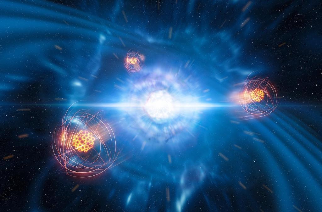 สสารประหลาดที่ใจกลางดาวนิวตรอน