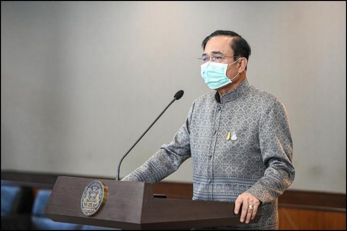 พล.อ.ประยุทธ์ จันทร์โอชา นายกรัฐมนตรีและรัฐมนตรีว่าการกระทรวงกลาโหม (แฟ้มภาพ)
