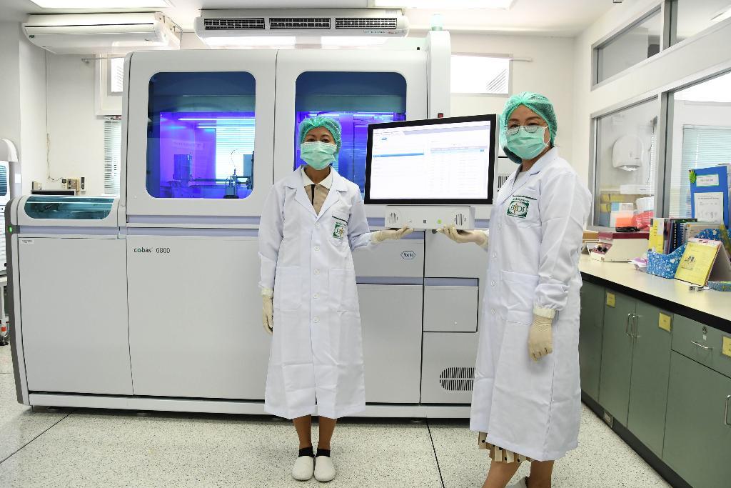 กรมควบคุมโรค เตรียมเครื่องมือตรวจหาเชื้อโควิด-19 แบบ Real time PCR