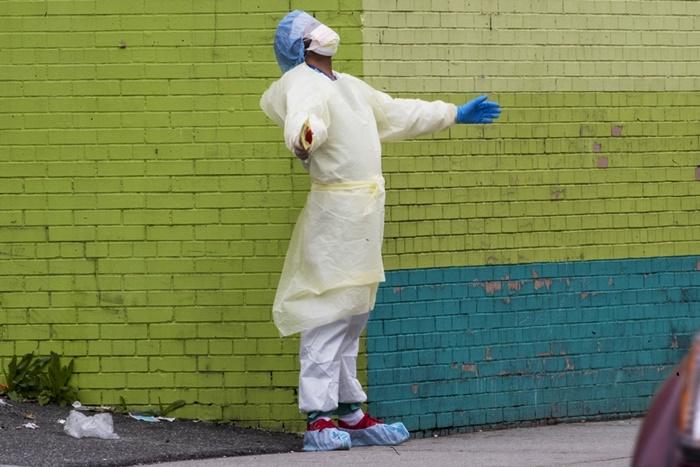 ยอดตาย'โควิด'ที่นิวยอร์กยังพุ่งไม่หยุด  ระดมฉุกเฉินอาสาสมัคร'ร่วมแสน'มาช่วย