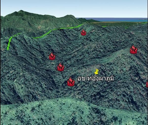 ผอ.สบอ.3 ลุยจับและลดไฟป่า พื้นที่ จ.กาญจนบุรี พบจุดHotpot ลดลงต่อเนื่อง