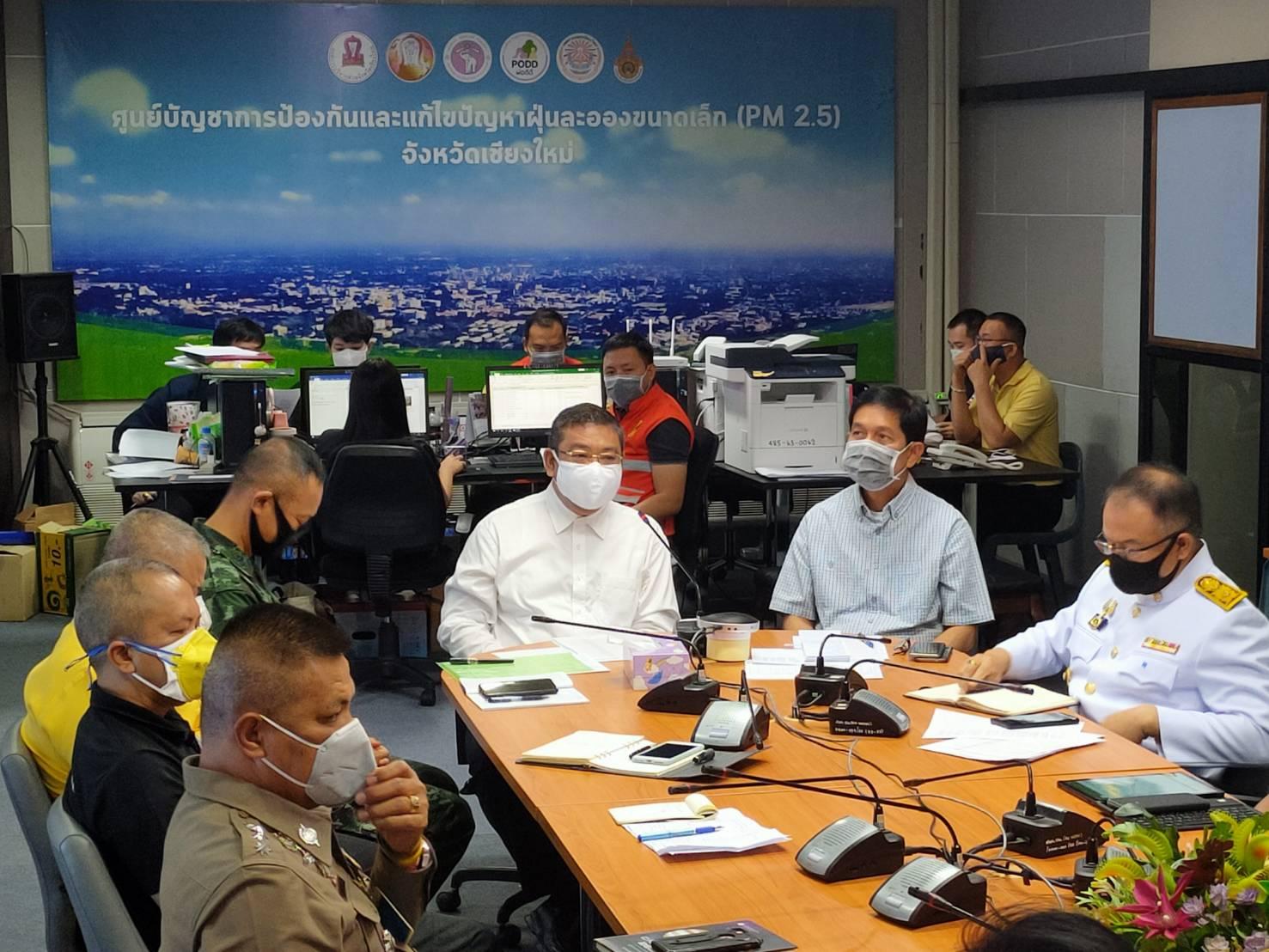 ผู้ว่าฯ เชียงใหม่สั่งเพิ่มชุดลาดตระเวนสกัดไฟเผาป่า จับตา 7 อำเภอไหม้ซ้ำซาก