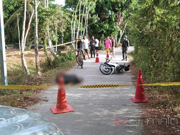 อดีตครูเลือดร้อนชักปืนยิงอริเสียชีวิตบนถนนภายในหมู่บ้านที่ปัตตานี