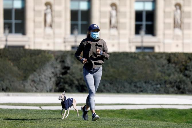 ฝรั่งเศสชาติที่4โลกยอดตายโควิด-19ทะลุหมื่น ปารีสยกระดับห้ามวิ่งออกกำลังกาย