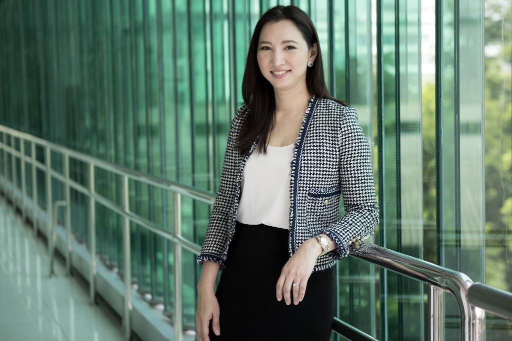 นางศันสนีย์ ฮวบสมบูรณ์ ผู้อำนวยการศูนย์พัฒนาผู้ประกอบการธุรกิจเทคโนโลยี (BIC) สวทช.