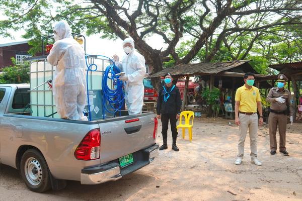 ปิด 2 หมู่บ้านท่าดอกแก้ว อ.ท่าอุเทน จ.นครพนม ผ่านไป 12 วันยังไม่พบผู้ติดเชื้อ