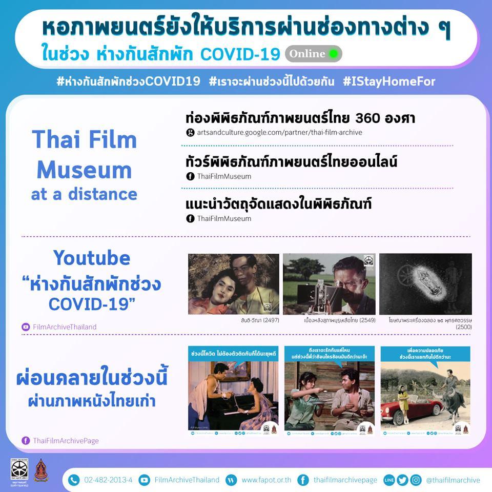 "Netflix หลบไป ""หอภาพยนตร์"" ชวนดูหนังไทยช่วงโควิด-19"