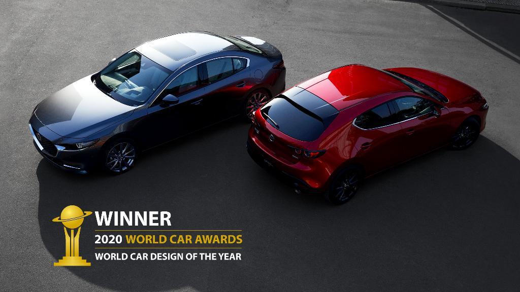 มาสด้า 3 คว้ารางวัลรถยนต์ที่ออกแบบยอดเยี่ยมแห่งปี 2020