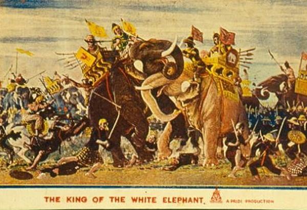 """""""พระเจ้าช้างเผือก"""" หนังกู้ชาติ ช่วยไทยไม่ตกเป็นผู้แพ้สงคราม! ประชาสัมพันธ์ผู้นำไทยใฝ่สันติภาพ!!"""
