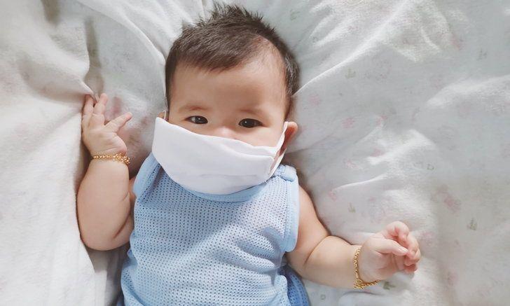 แนะ รพ. ไม่ควรใช้ Face Shield หรือหน้ากากอนามัย สวมให้เด็กทารก มีความเสี่ยงเกิดอันตรายต่อระบบประสาท