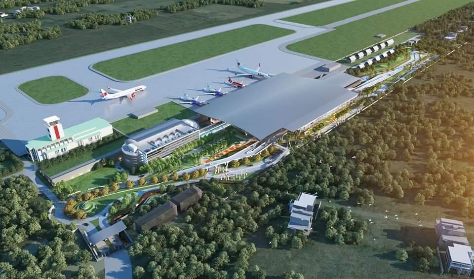 สนามบินขอนแก่นคืบ 48.33 % -เปิดเทอร์มินอลใหม่ มี.ค.64
