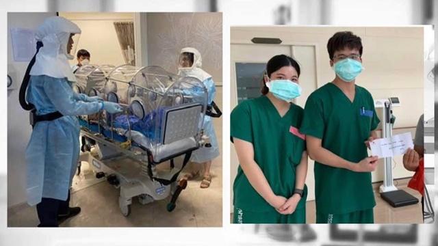 ใจแกร่ง! แพทย์โพสต์ซึ้ง ถึงผู้ติดเชื้อโควิด-19 หลังรักษานานเกือบ 3 สัปดาห์