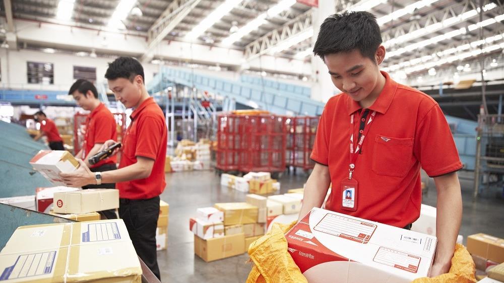 'ไปรษณีย์ไทย' เผยช่วงสถานการณ์โควิด-19 ทำยอดพัสดุเพิ่ม 60% เร่งระดมเจ้าหน้าที่ช่วยคัดแยก