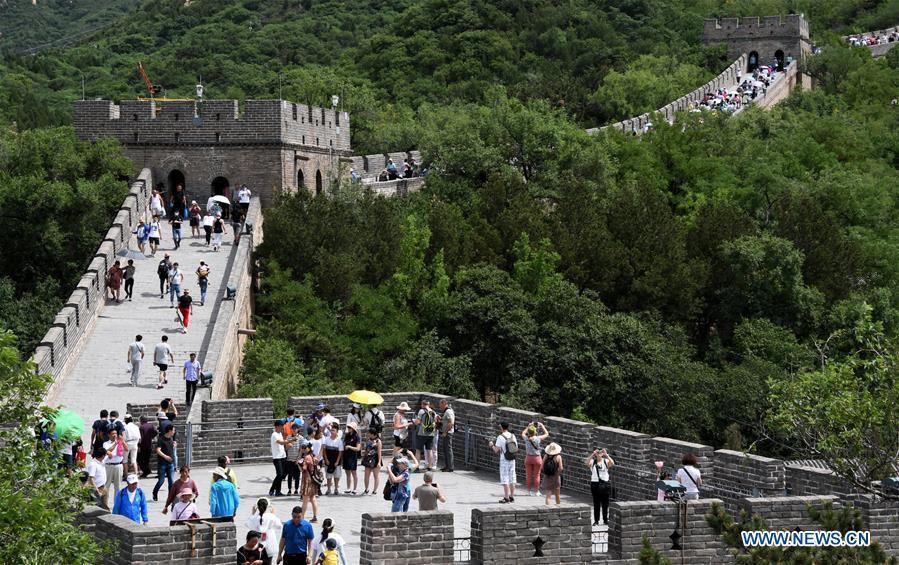 กำแพงเมืองจีน (ภาพ : ซินหัว)