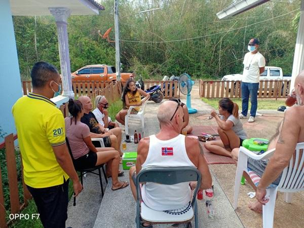 รวบคนไทย-ต่างชาติ จับกลุ่มปาร์ตี้ฉลองวันเกิด ไม่สนผิด พรก.ฉุกเฉิน