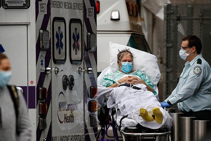 """จับตาโรคระบาดโควิด-19 ใน """"นิวยอร์ก-อังกฤษ"""""""