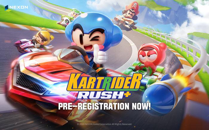 เตรียมซิ่ง! KartRider Rush+ เปิดให้ลงทะเบียนล่วงหน้าแล้ววันนี้