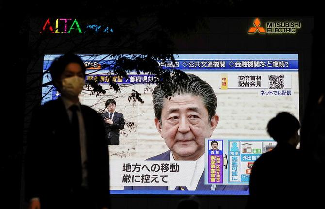 อาเบะเพิ่งตื่น!ขยายภาวะฉุกเฉินสู้โควิด-19ทั่วญี่ปุ่น ปรับแผนแจกเงินทุกคนหัวละ3หมื่น